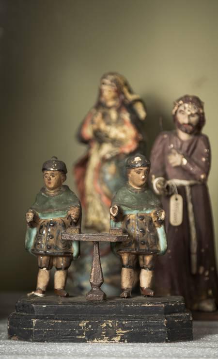 Pouco mais de 520 objetos compõem acervo que passará a ficar sob a guarda do Museu da República, quase 130 anos depois do início das apreensões Foto: Leo Martins / Agência O Globo