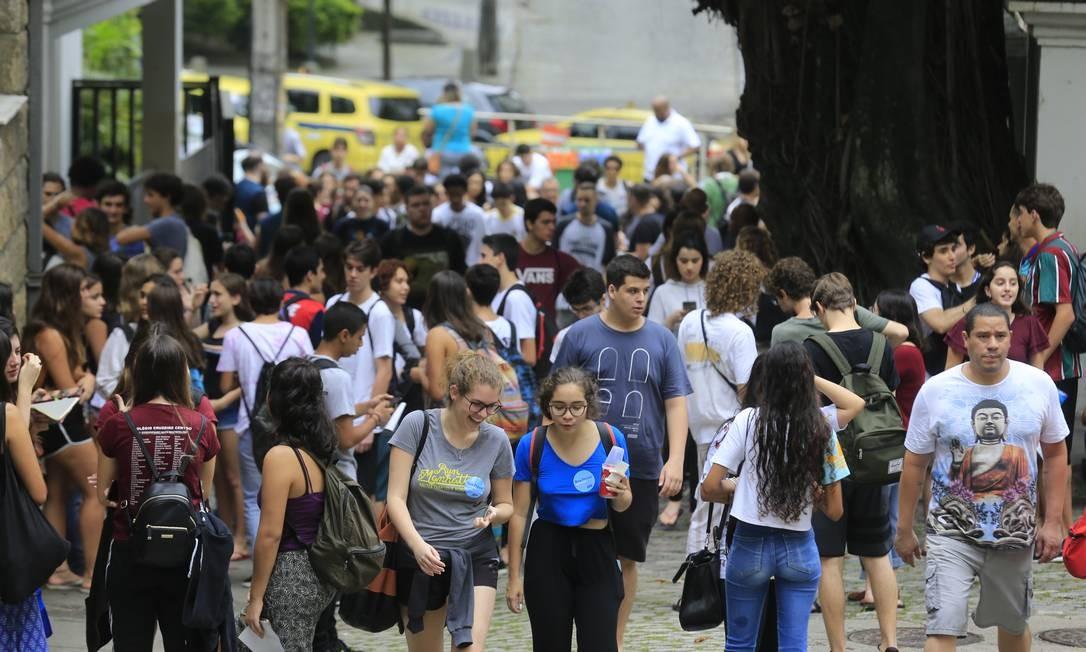 Demanda para especialização cresce 74% em quatro anos Foto: Marcelo Theobald / Agência O Globo