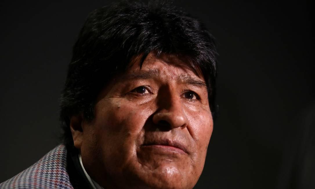 Ex-presidente boliviano Evo Morales durante entrevista na Cidade do México Foto: Edgard Garrido / REUTERS/15-11-2019