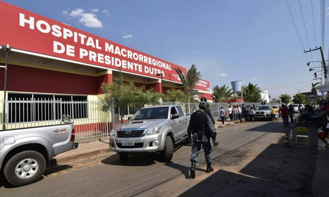 Unidade hospitalar em que indígena Nico Alfredo Guarajara está internado em estado grave Foto: Karlos Geromy / Secretaria de Saúde do Maranhão