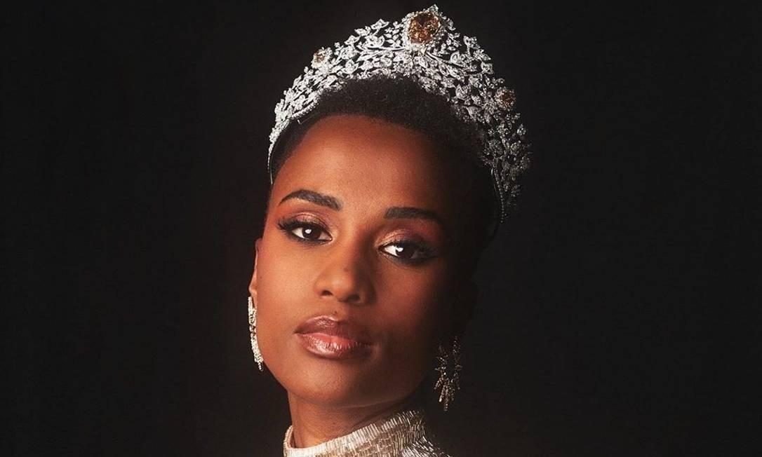 Zozibini Tunzi, Miss Universo 2019 Foto: Reprodução/Instagram