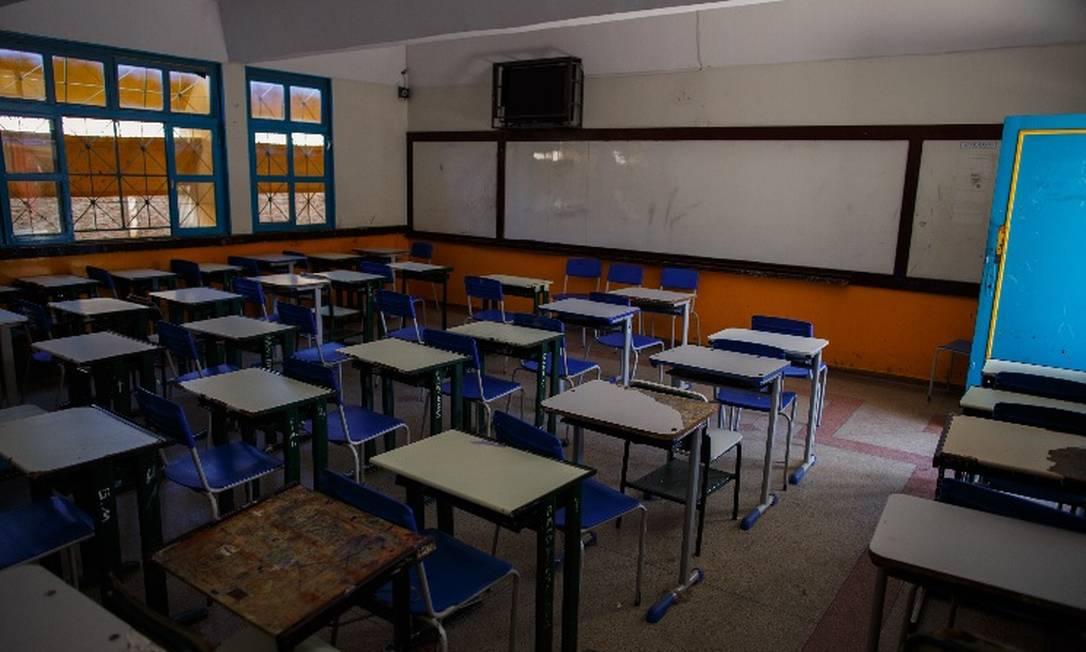 Na educação, o relatório do Pnud mostra estagnação nos indicadores Foto: Daniel Marenco/Agência O Globo