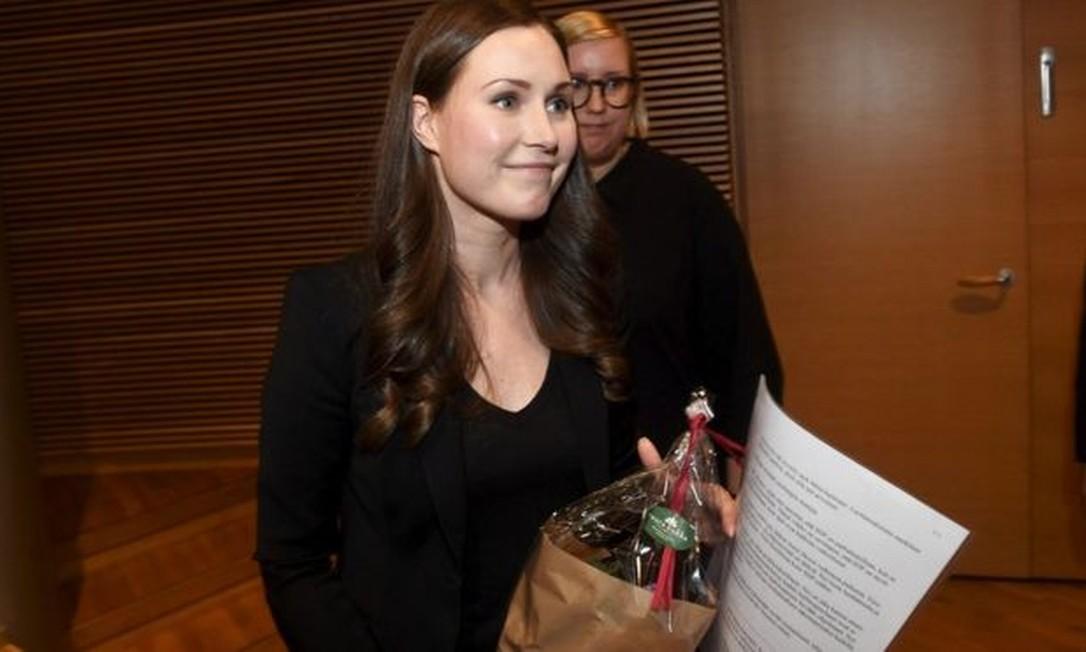 Sanna Marin será primeira-ministra mais jovem do mundo Foto: REUTERS