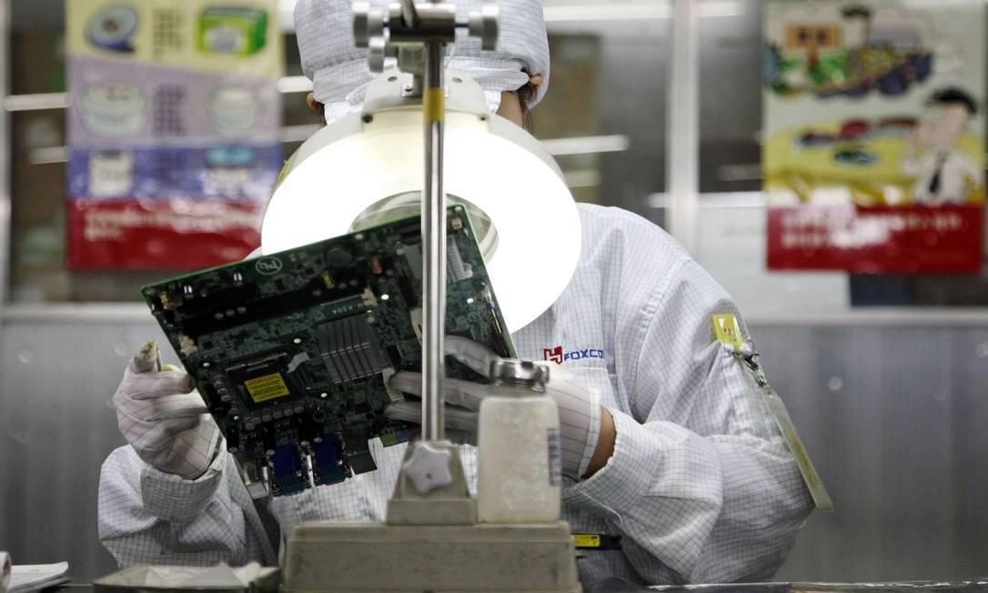 Órgãos do governo terão que substituir computadores por modelos chineses Foto: Qilai Shen / Bloomberg