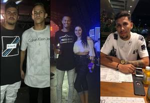 Cinco jovens morreram em um acidente de carro na Zona Norte Foto: Reprodução / Redes sociais