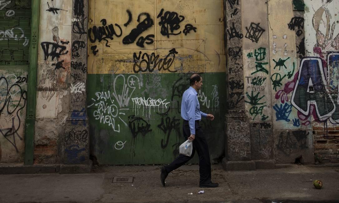 RI Rio de Janeiro (RJ) 25/10/2019 - Ruas do Centro onde existiram os primeiros terreiros de Umbanda. Foto Alexandre Cassiano Foto: Alexandre Cassiano / Agência O Globo
