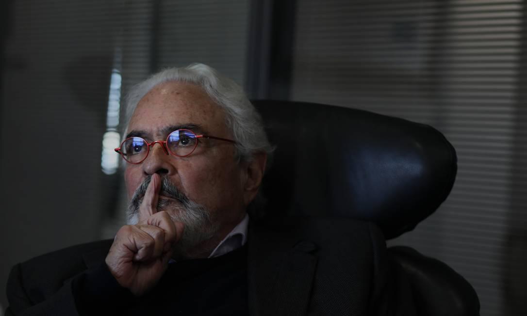 O advogado criminalista José Carlos Dias, presidente da Comissão Arns Foto: Jorge Araújo/Folhapress