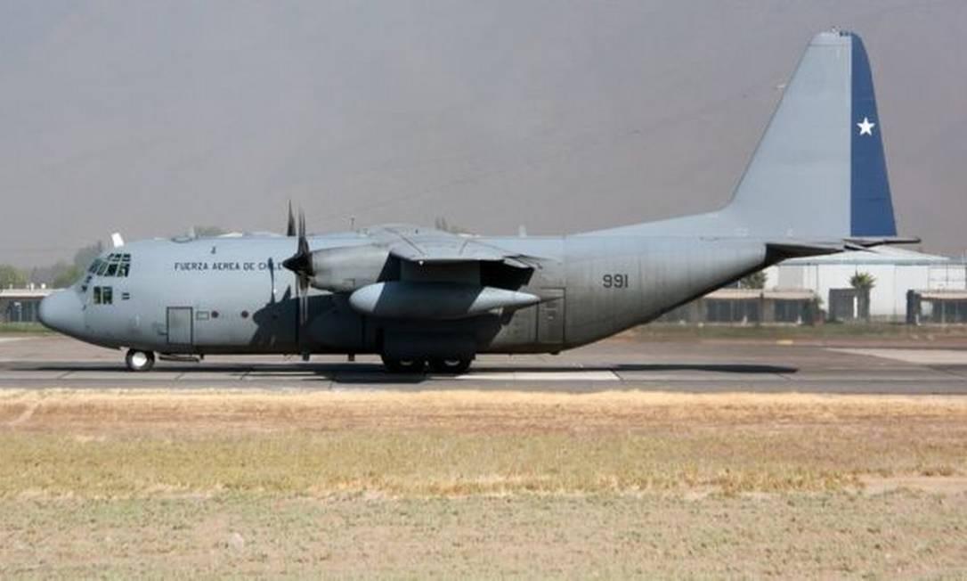 Força Aérea do Chile opera três aviões C-130 Foto: Getty Images