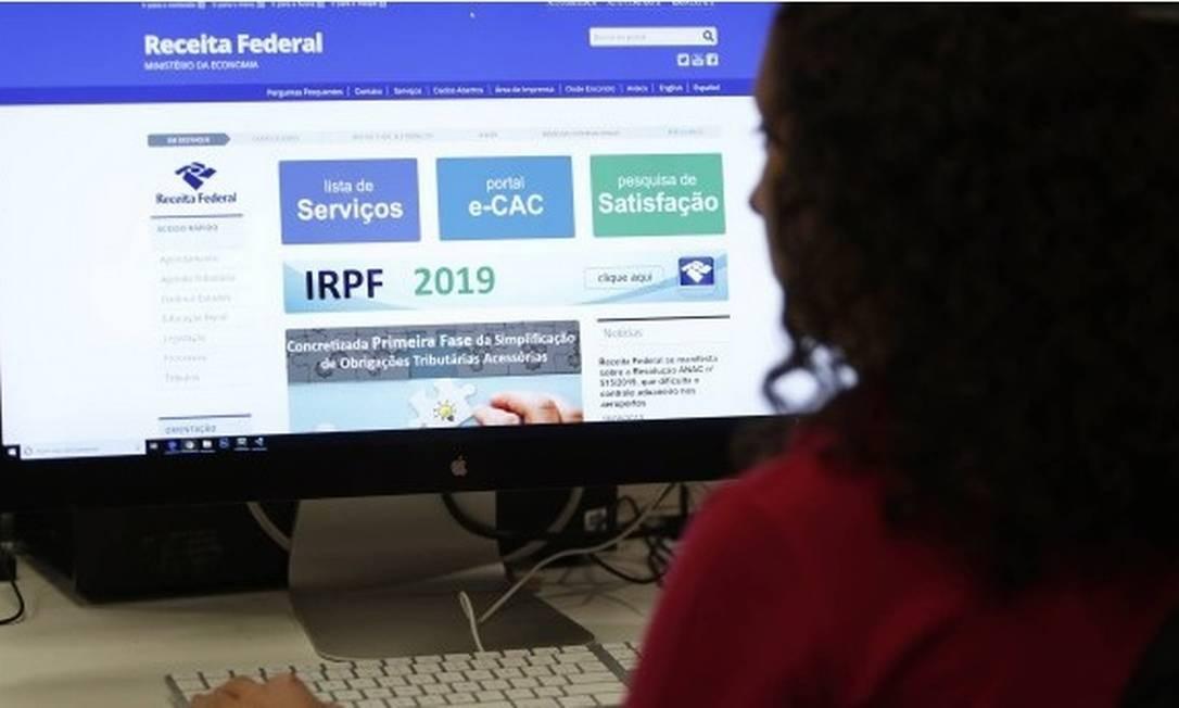 A consulta à situação da declaração pode ser feita pelo site da Receita Federal Foto: Thiago Freitas /Agência Brasil