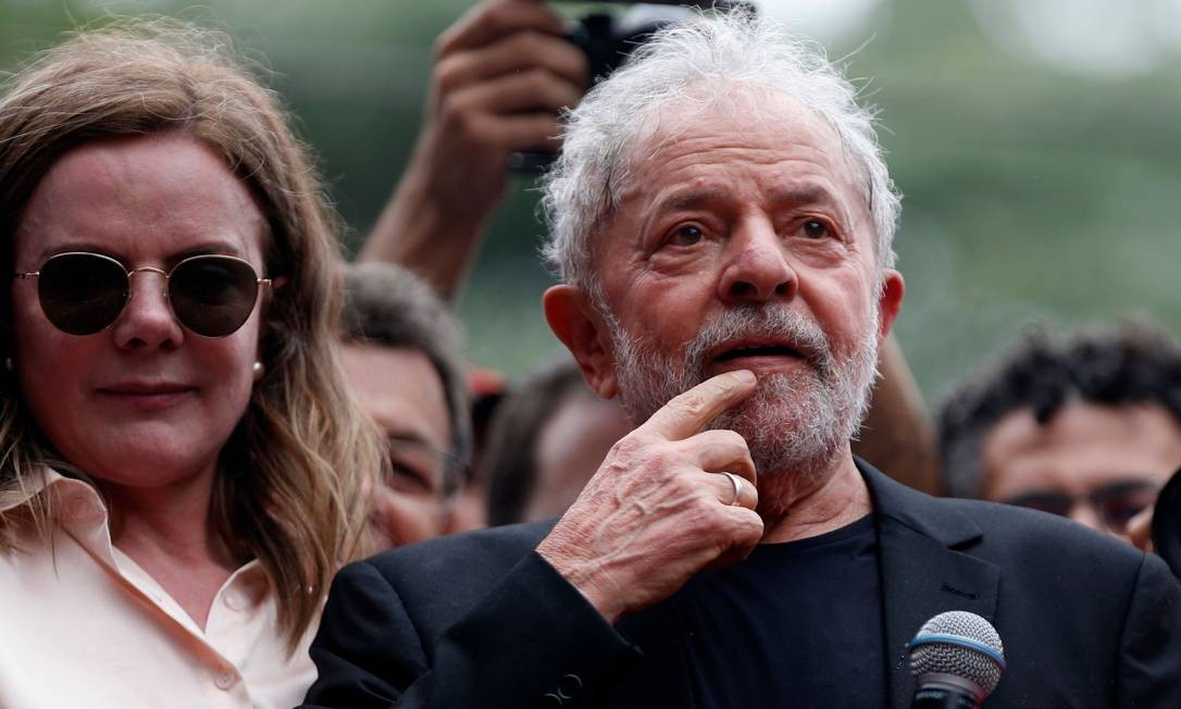 Ex-presidente Luiz Inácio Lula da Silva Foto: Miguel Schincariol / AFP