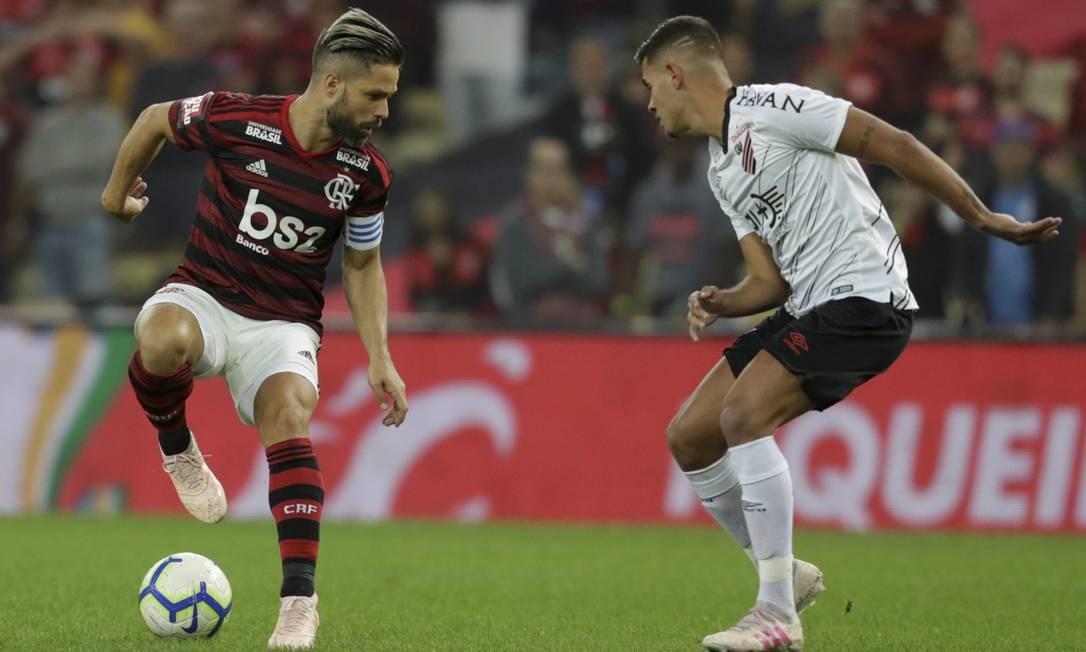 Flamengo e Athletico se enfrentam na Supercopa do Brasil Foto: Marcelo Theobald / Agência O Globo