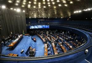 Plenário do Senado Federal Foto: Ailton de Freitas / Agência O Globo