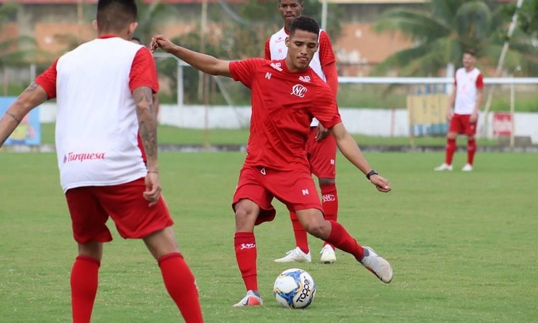 Thiago se destacou na Série C Foto: Divulgação