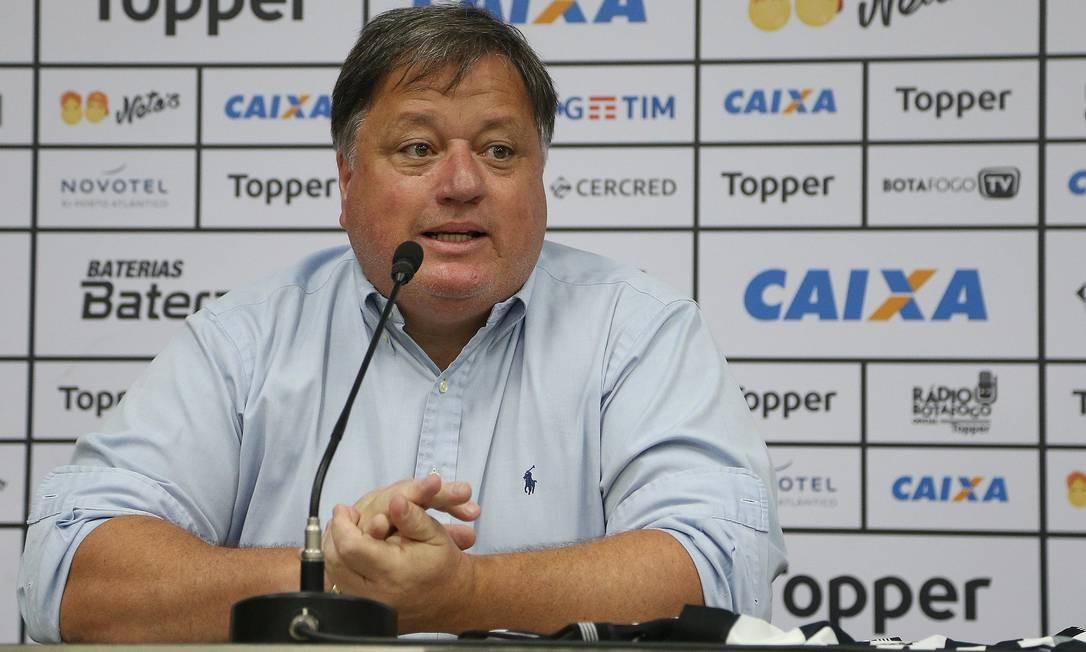 Anderson Barros foi gerente do Botafogo Foto: VITOR SILVA/SSPRESS/BOTAFOGO / VITOR SILVA/SSPRESS/BOTAFOGO