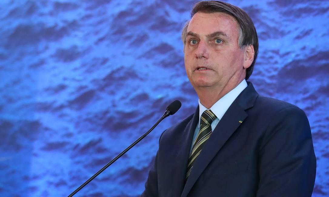 O presidente Jair Bolsonaro Foto: Marcos Correa / Divulgação Presidência da República