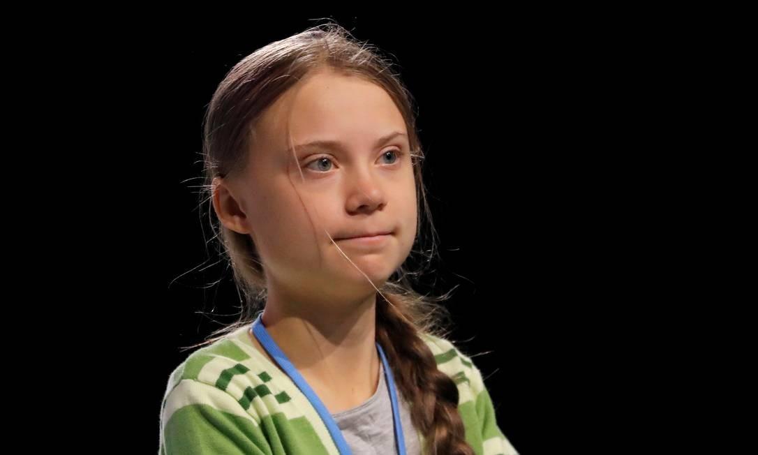 O ativismo de Greta começou em 2018, quando se viu acometida por uma depressão severa. A luta contra as alterações climáticas no planeta foi uma válvula de escape, para ela que já foi diagnosticada com Asperger – uma nuance do espectro altista –, Transtorno Obsessivo Compulsivo (TOC) e mutismo seletivo Foto: Susana Vera / REUTERS
