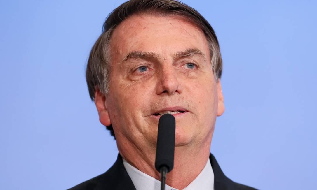 O presidente Jair Bolsonaro deixou o PSL e pretende criar o partido Aliança pelo Brasil Foto: Isac Nóbrega / Presidência