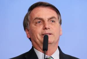 O presidente Jair Bolsonaro Foto: Isac Nóbrega / Presidência
