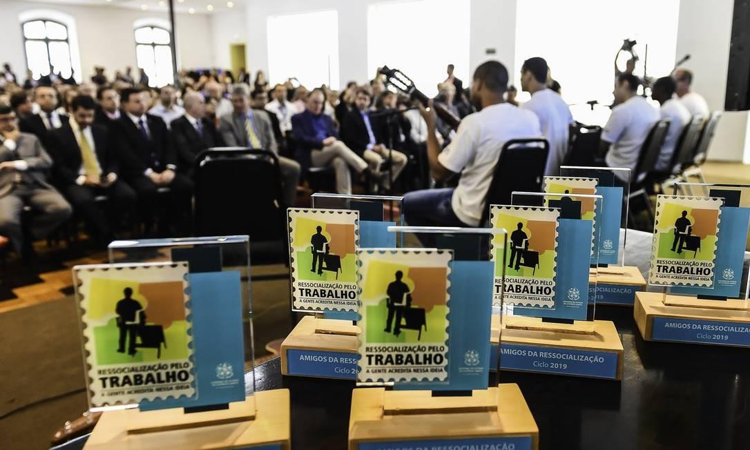 Senac é reconhecido por contribuir para a ressocialização de presos Foto: Helio Filho / Divulgação Cenac