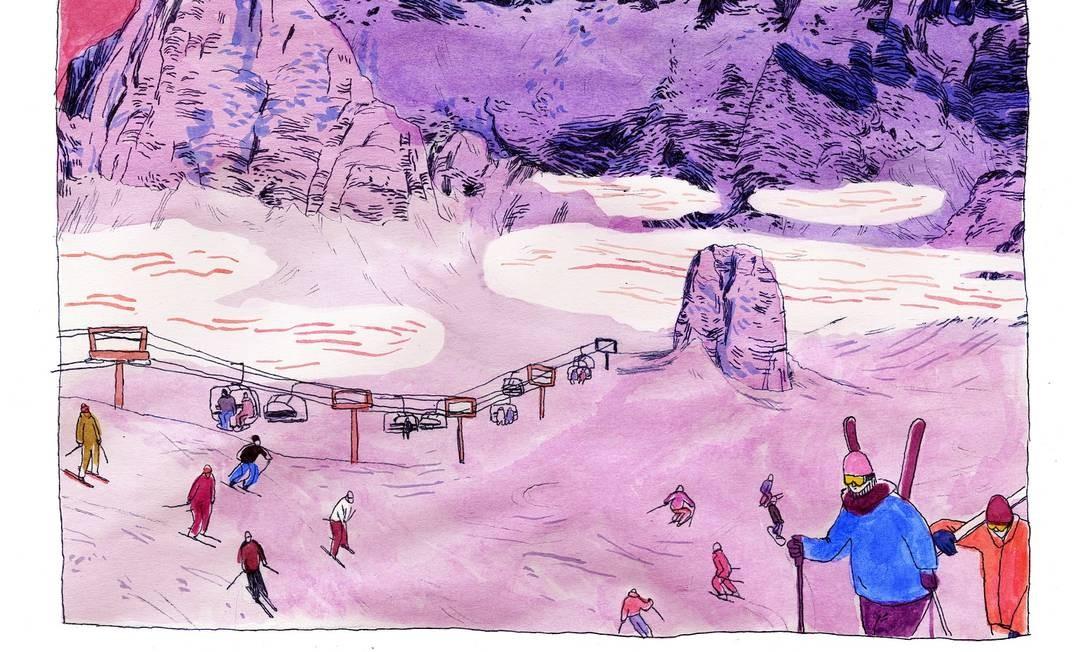 Dicas para economizar na hora de esquiar nos EUA Foto: Karlotta Freier / NYT