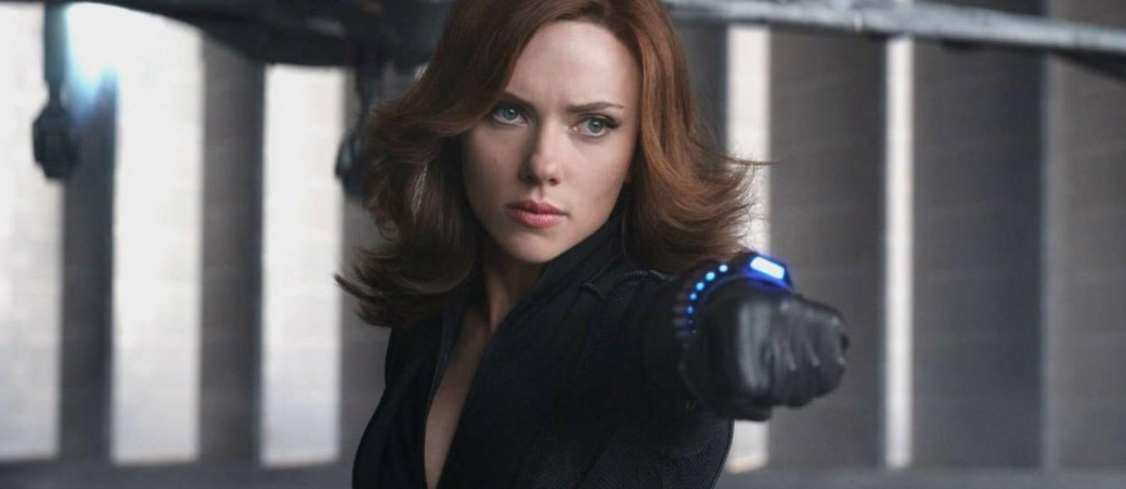 Scarlett Johansson como a 'Viúva negra', que terá novo filme ainda em 2020 Foto: Divulgação