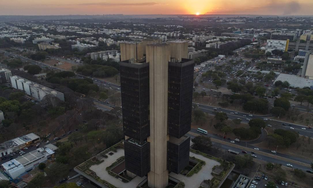 Sede do Banco Central, em Brasilia: instituição usou parte das reservas cambiais para conter alta do dólar Foto: Daniel Marenco / Agência O Globo
