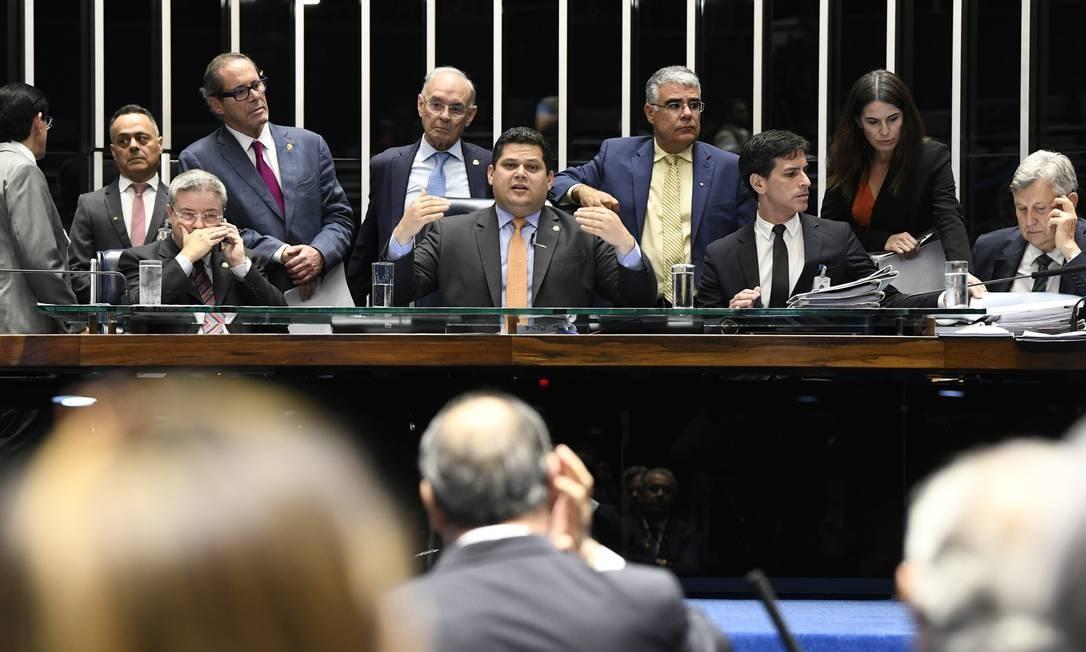 Plenário do Senado Federal Foto: Jefferson Rudy / Agência O Globo