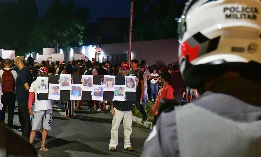 Moradores de Paraisópolis protestam contra a violência policial 04/12/2019 Foto: Eduardo Carmim/Photo Premium