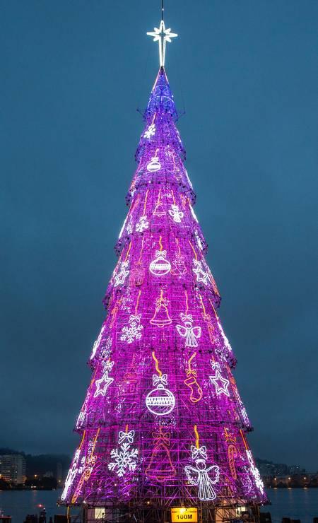A atração ficará montada até o dia 6 de janeiro, dia da Folia de Reis, quando, tradicionalmente, encerra-se os festejos natalinos Foto: Divulgação