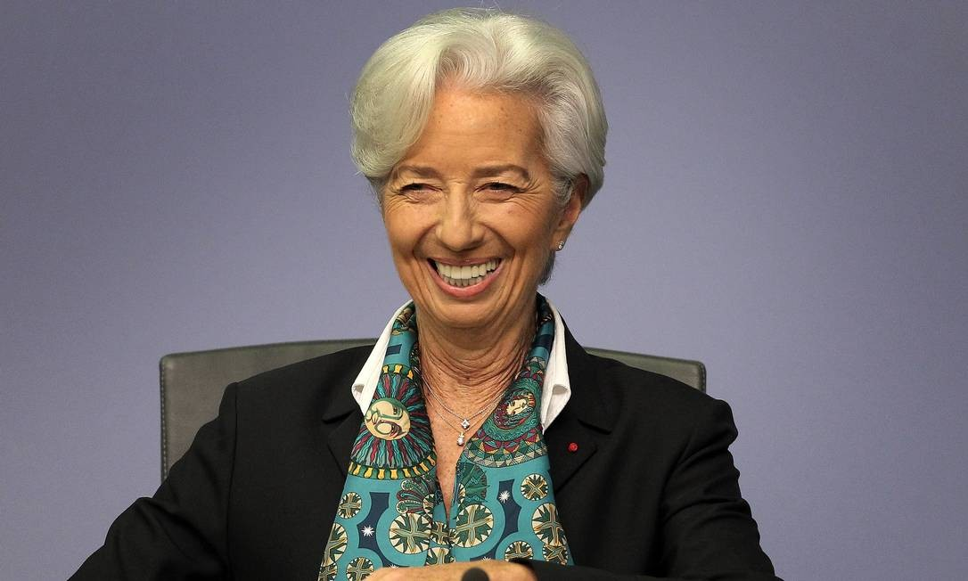 Christine Lagarde: nova fase no BCE. Foto: DANIEL ROLAND / AFP