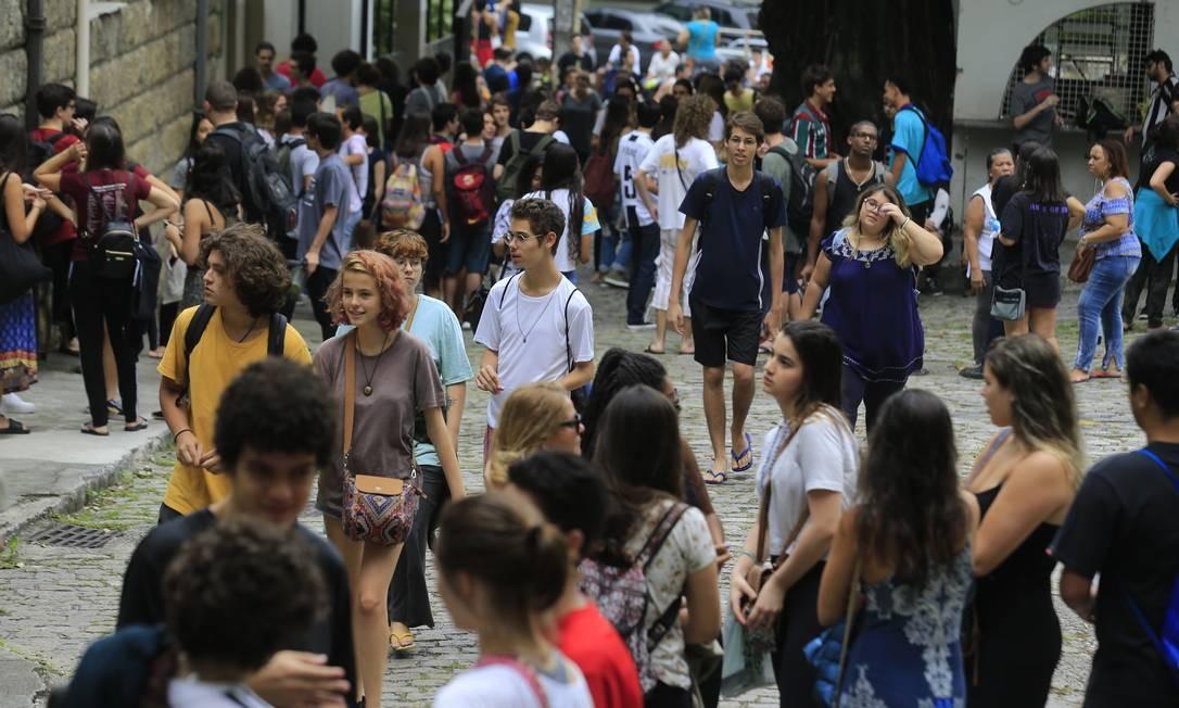 Alunos fazem Enem para entrar na universidade / 10.11.2019 Foto: Marcelo Theobald / Agência O Globo