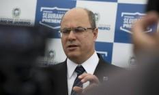 O governador do Rio, Wilson Witzel 29/11/2019 Foto: Márcia Foletto / Agência O Globo