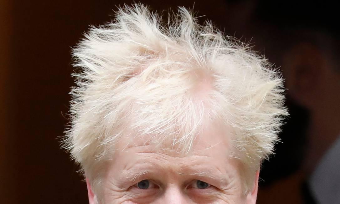 Alçado a primeiro-ministro após a renúncia de sua rival no Partido Conservador Theresa May, Johnson deu a maior vitória ao partido desde Thatcher, em 1987 Foto: TOLGA AKMEN / AFP