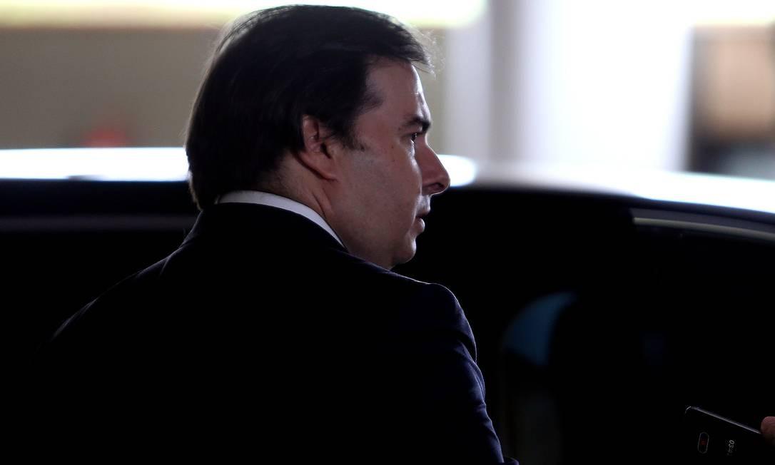 Presidente da Câmara dos Deputados, Rodrigo Maia cumpre agenda de reuniões com representantes de organismos internacionais na Europa Foto: Jorge William / Agência O Globo