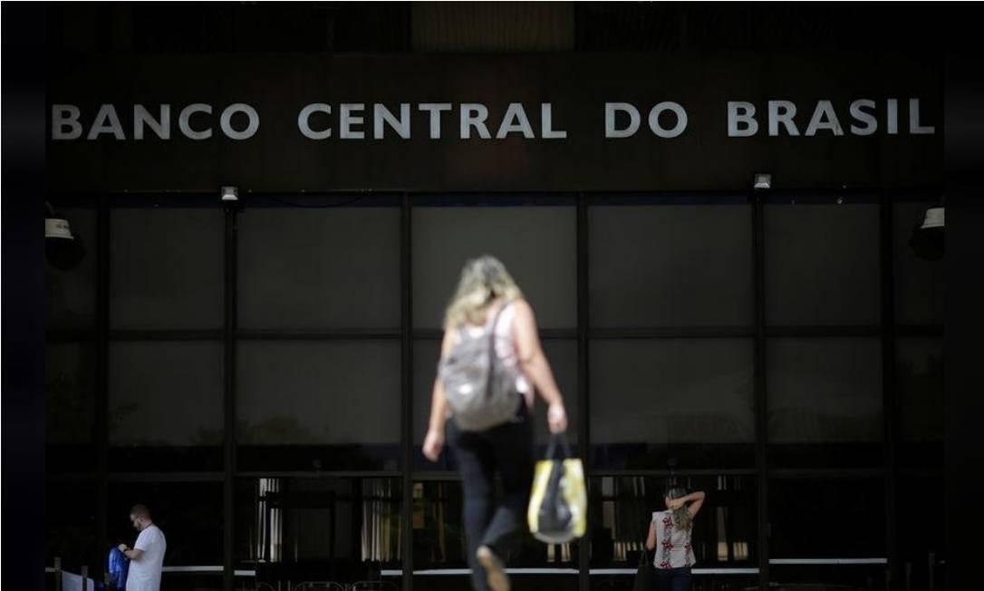 Fachada do Banco Central, em Brasília Foto: Reuters