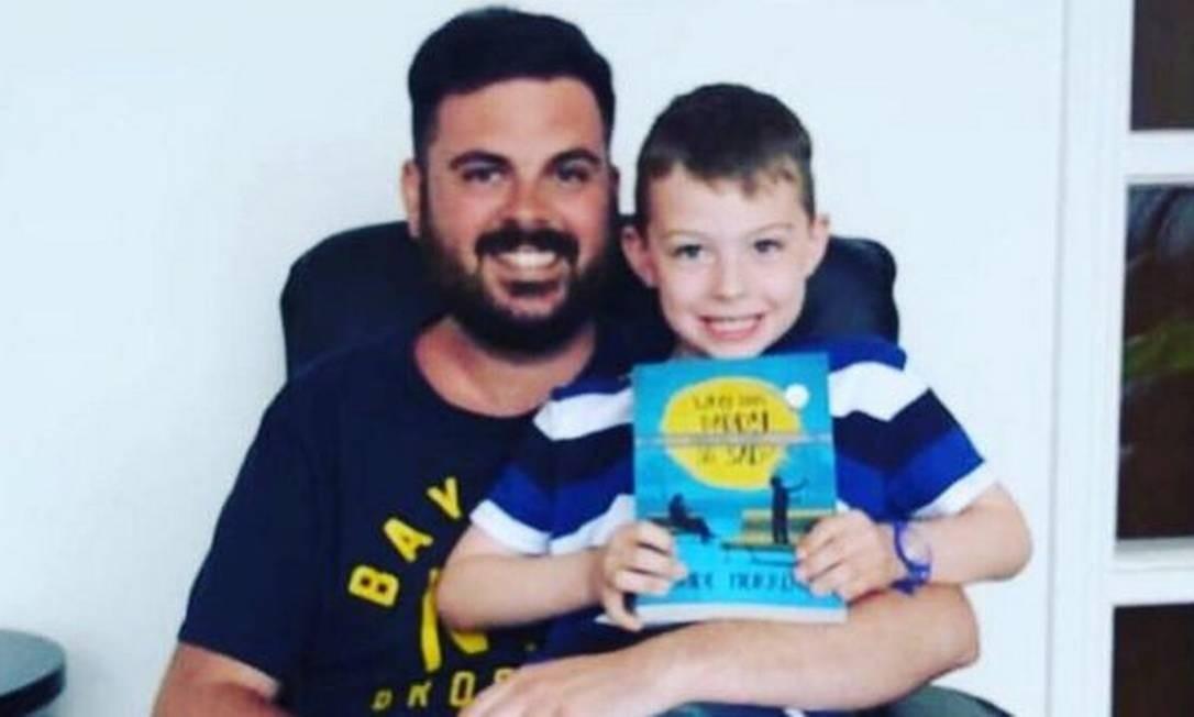 Jude Morrow espera que ao compartilhar suas experiências possa ajudar pais de primeira viagem que têm autismo Foto: Jude Morrow