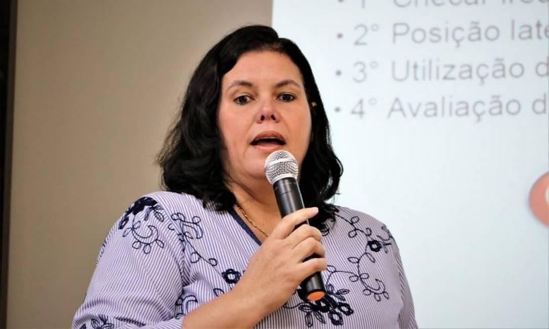 Secretária de Saúde da cidade do Rio de Janeiro, Ana Beatriz Busch Foto: Divulgação