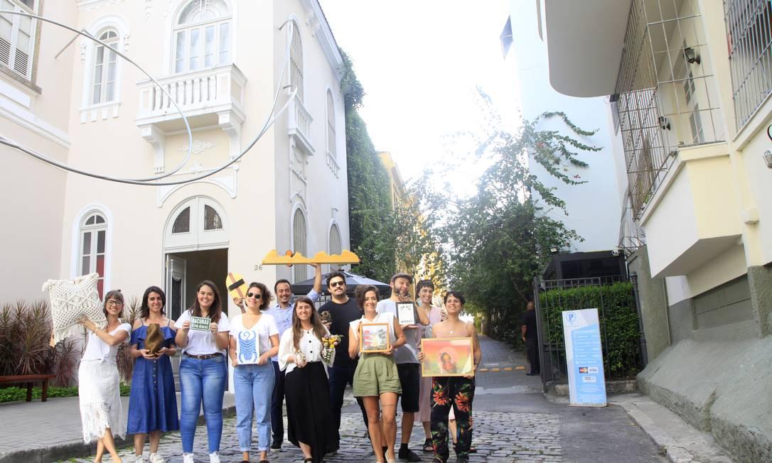 Na Glória. Expositores mostram seus produtos autorais que estarão à venda em evento realizado hoje Foto: Fabio Rossi