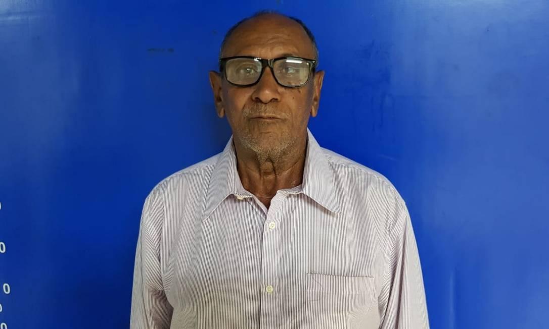 Isnoel Pereira Gomes, de 80 anos, foi preso por policiais da 14ª DP (Leblon) Foto: Reprodução