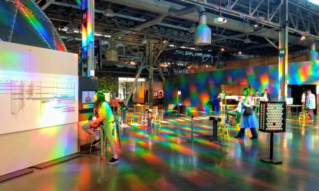 O centro de ciências Exploratorium é uma das principais atrações de São Francisco, na Califórnia Foto: Divulgação