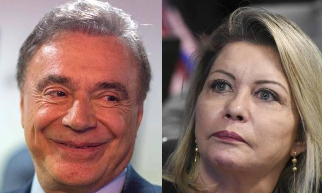 Álvaro Dias e Selma Arruda Foto: Daniel Ramalho / AFP e Jefferson Rudy / Agência Senado