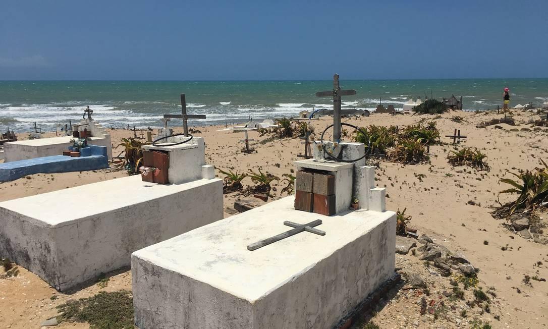 Cemitério em Icaraizinho tem mais de cem anos de história Foto: Bruno Alfano