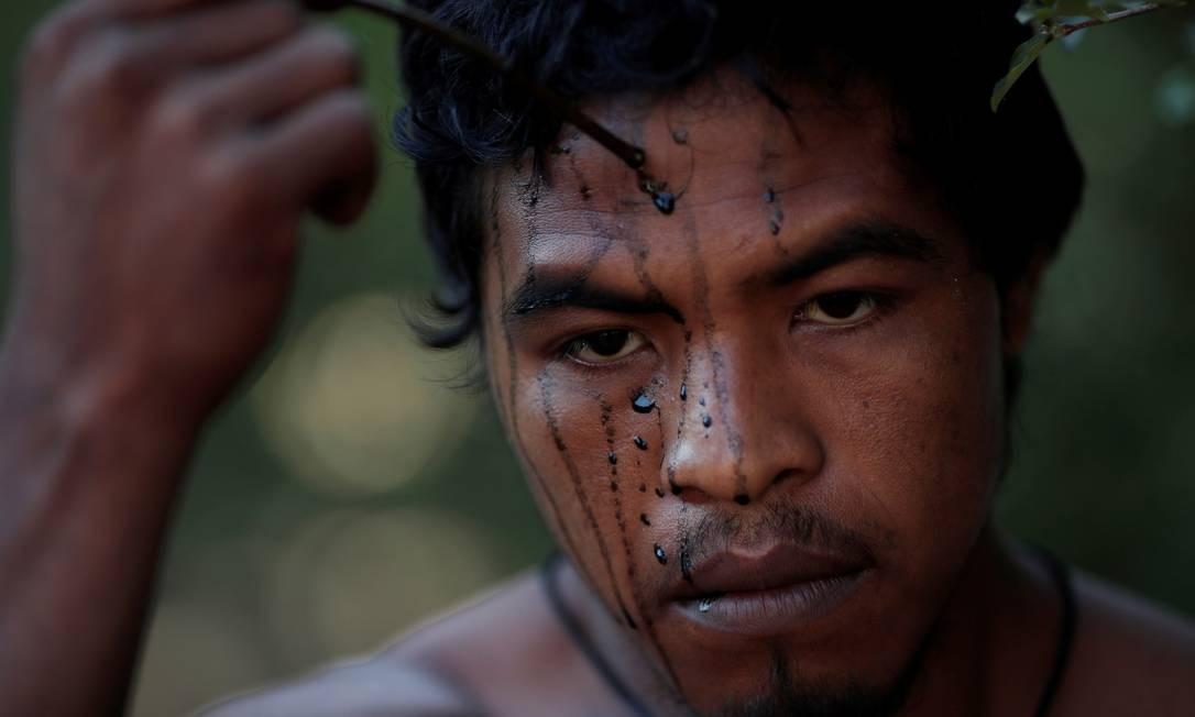 Paulino Guajajara foi assassinado em emboscada no início de novembro Foto: Ueslei Marcelino / Reuters 10/09/2019