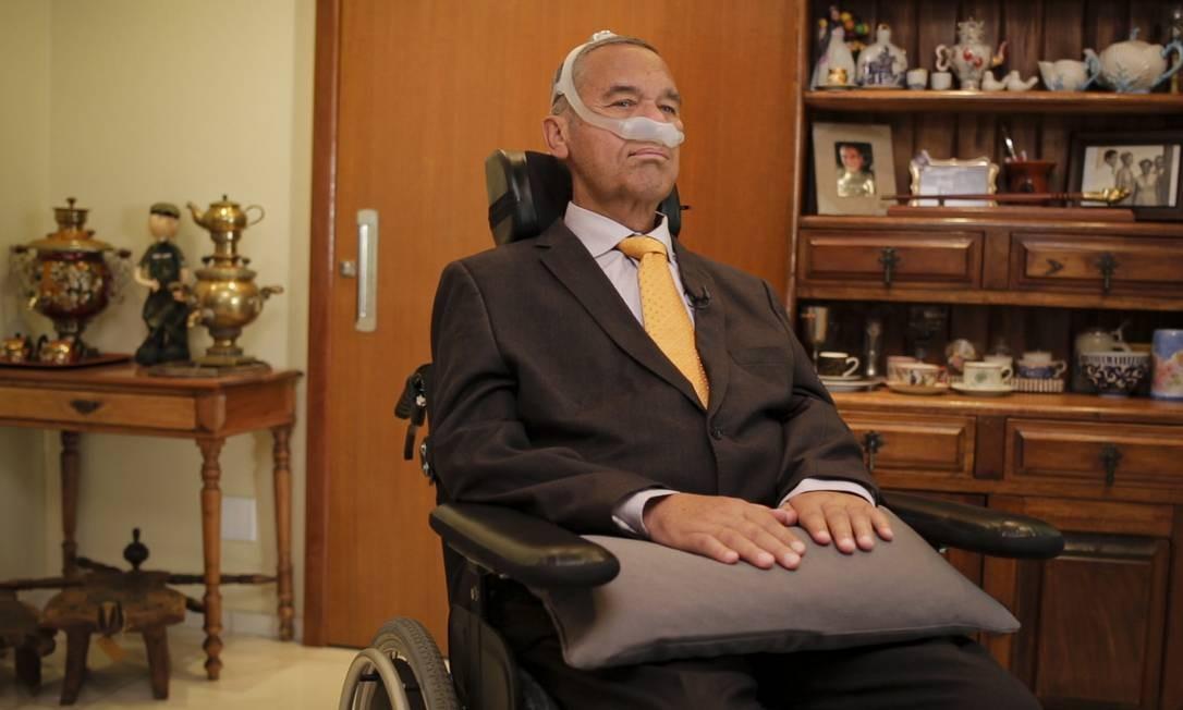 RI- 06/12/19 Especial 2020 - Thomas Traumann entrevista General Villas Boas. Foto: Fernando Lemos Foto: Fernando Lemos / Agência O Globo