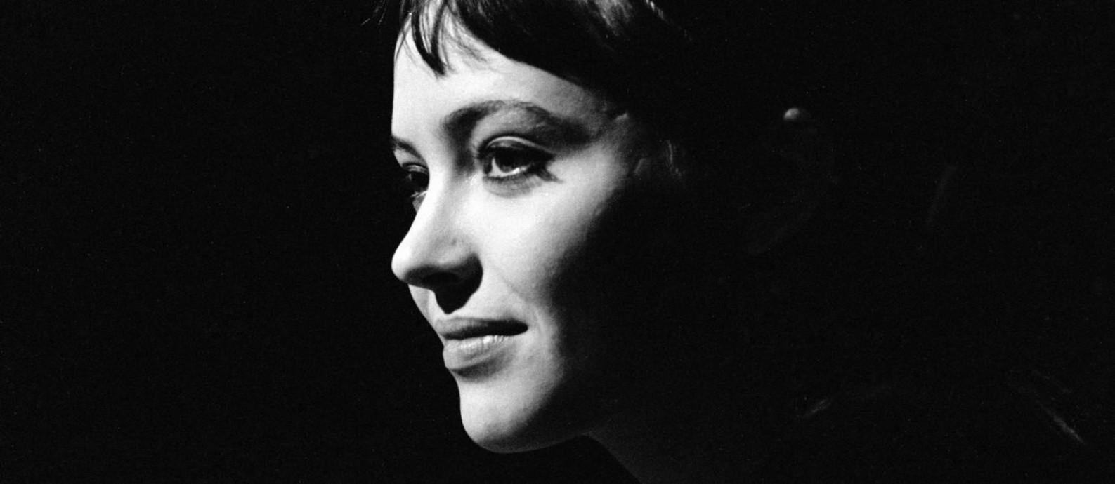 A atriz Anna Karina em foto de 1960 Foto: Jean-Régis Roustan