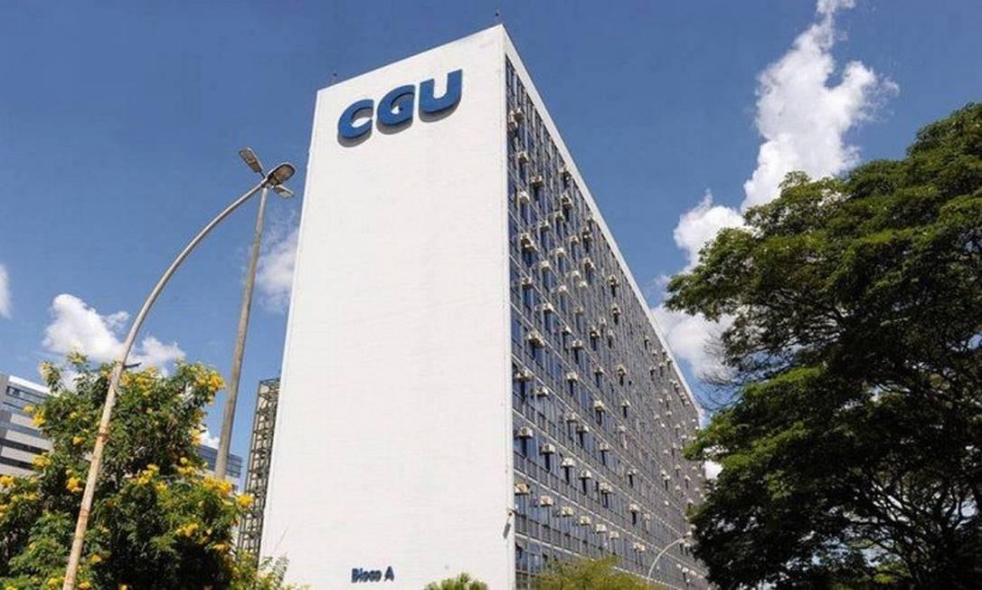 Fachada do prédio da CGU Foto: Divulgação