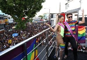 Décima nona Parada Gay de Madureira Foto: Fabio Rossi / Agência O Globo