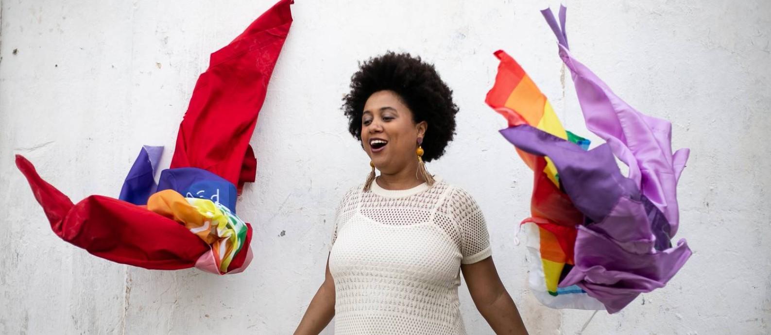 Marina Íris levanta diversas bandeiras no sambas de seu terceiro álbum solo Foto: Pedro Curi / Divulgação