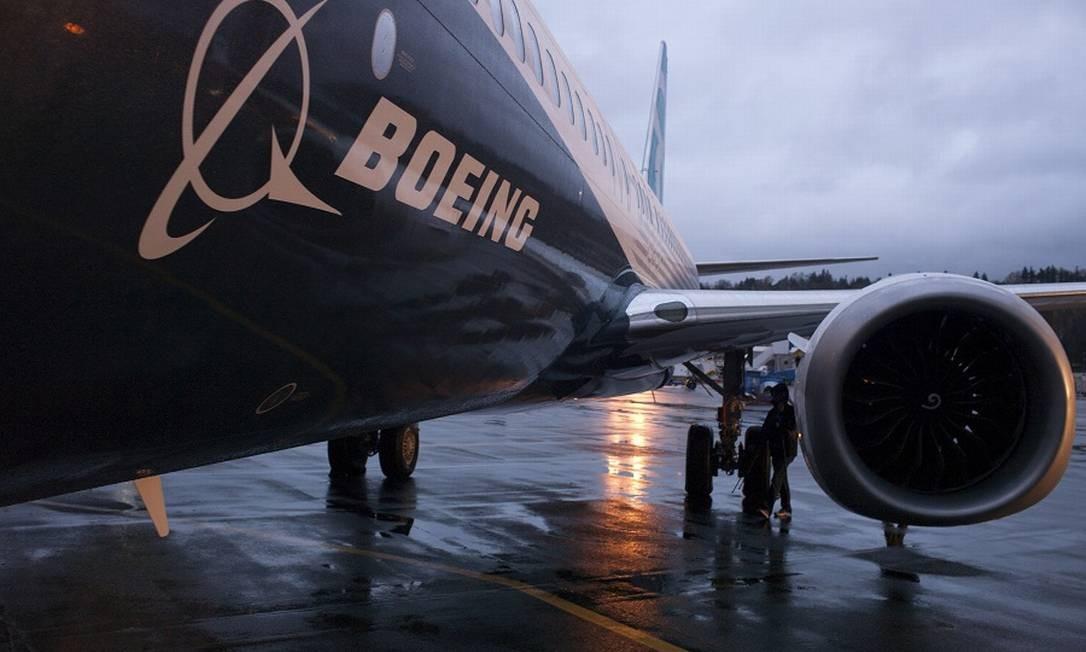 Boeing 737 Max: produção suspensa. Foto: Matt McKnight / REUTERS