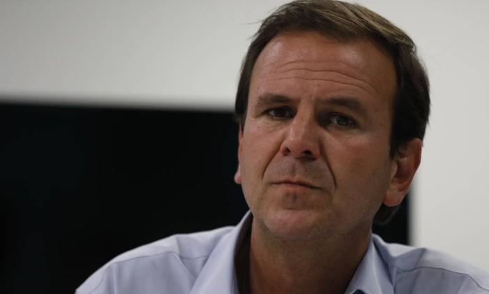 O ex-prefeito Eduardo Paes 26/10/2018 Foto: Custódio Coimbra / Agência O Globo